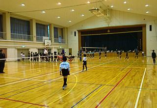 体育館の風景